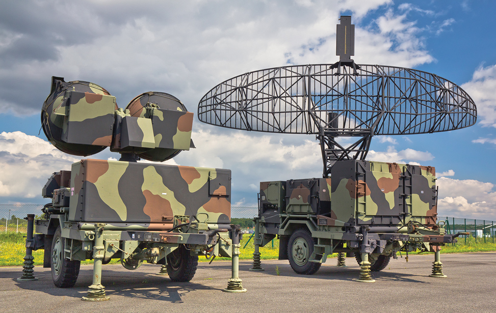 Army Mobile Radar Antenna Positioning System