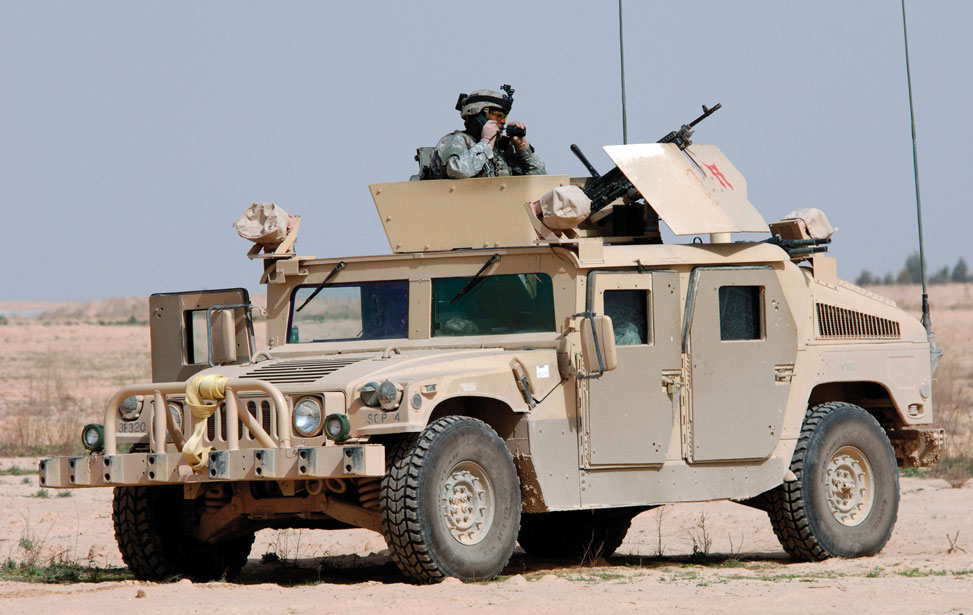 Humvee Turret Drives