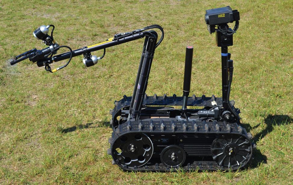 Military Law Enforcement Robots