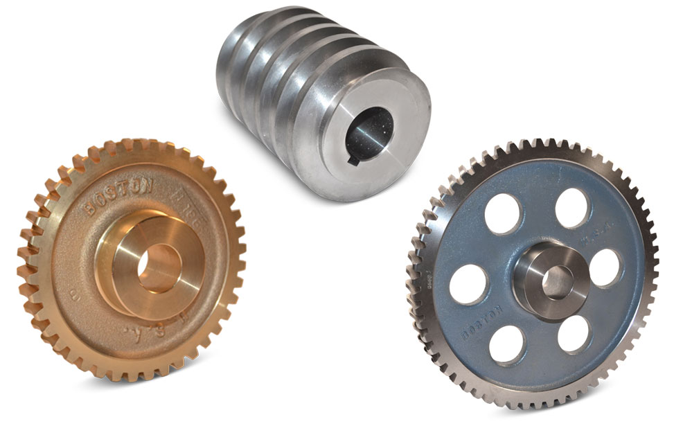 Boston Gear Open Gearing Worm Gears