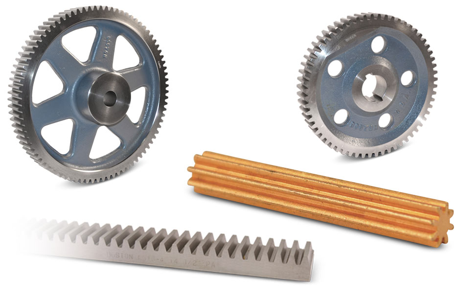 Boston Gear Open Gearing Spur Gears and Gear Racks