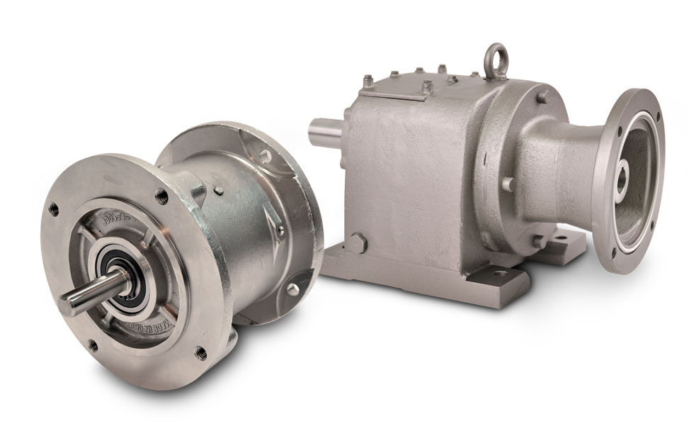 Inline Stainless Steel Gear Drive