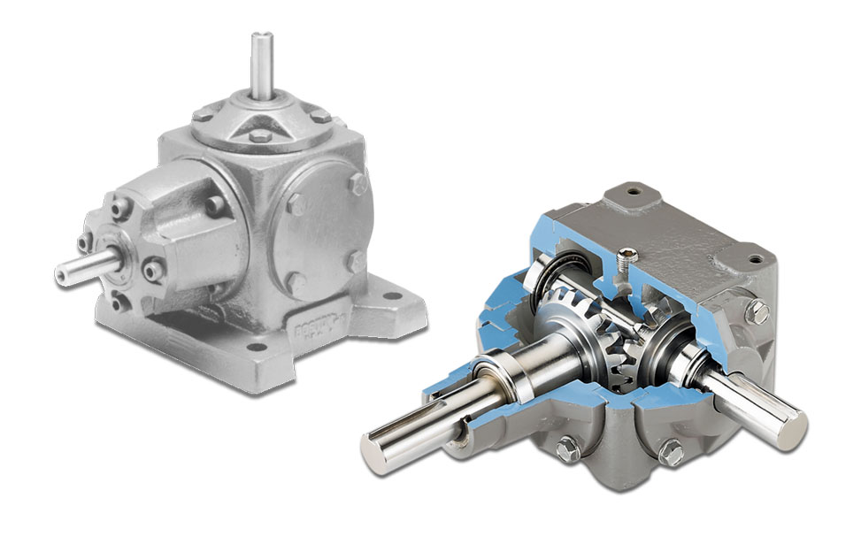 Right Angle Cast Iron Gear Drives