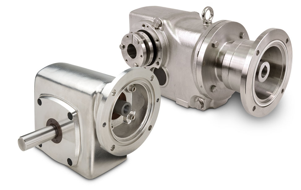 Right Angle Stainless Steel Gear Drives