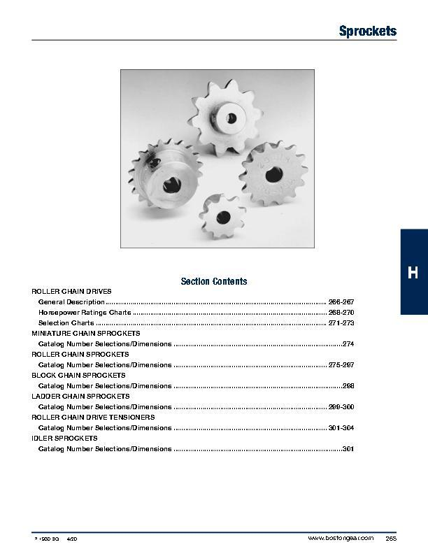 Roller Chain Sprockets | Couplings Shaft Accessories & Power