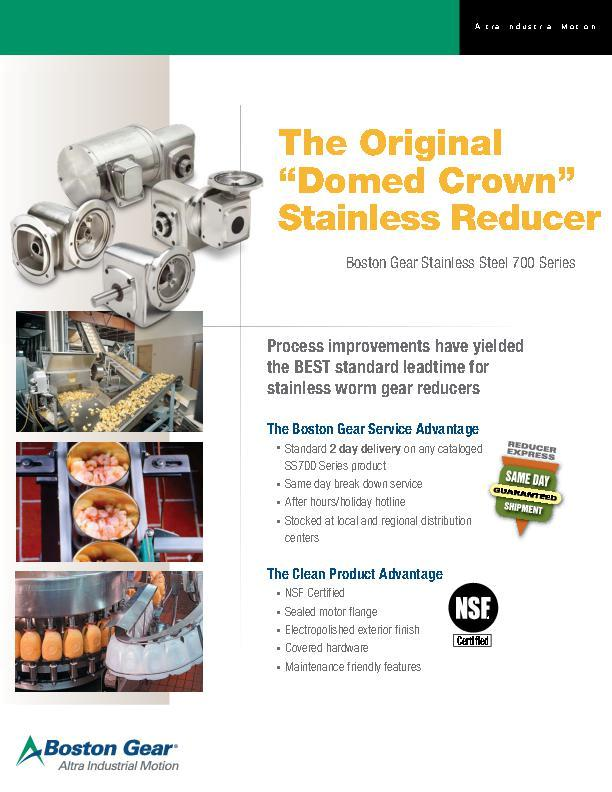 The Original Domed Crown Stainless Reducer